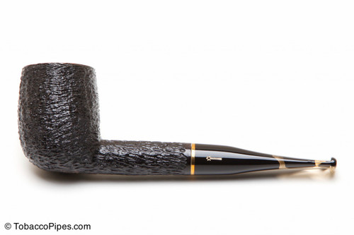Savinelli Oscar Tiger Rustic Briar Pipe KS 111 Tobacco Pipe Left Side