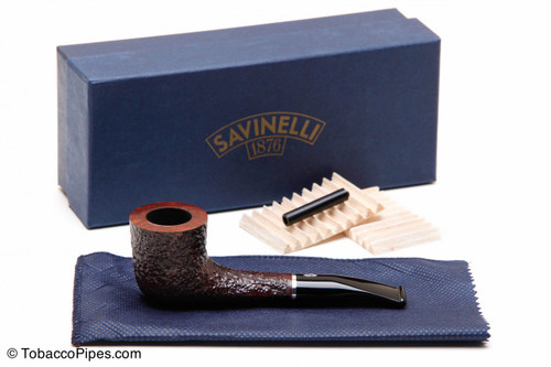 Savinelli Pocket Brownblast 404 Tobacco Pipe Kit
