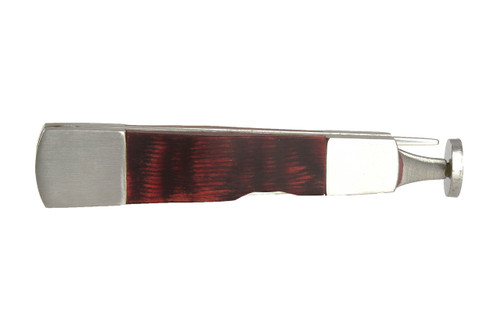 Brigham Red Wood Inlay with Metal Outside Pipe Tool