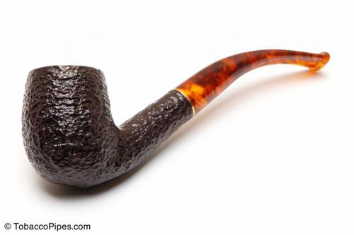 Savinelli Tortuga Rustic KS Briar 606 Tobacco Pipe Left Side