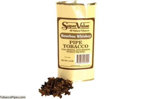 Super Value Bourbon Whiskey Pipe Tobacco