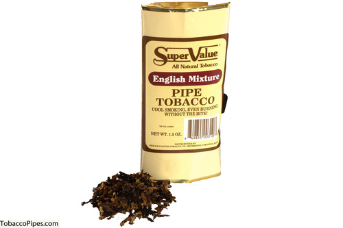 Super Value English Mixture Pipe Tobacco