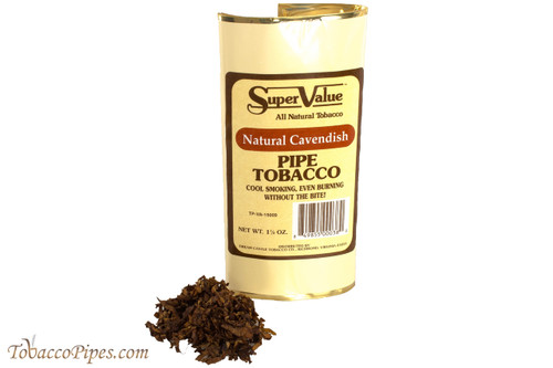 Super Value Natural Cavendish Pipe Tobacco