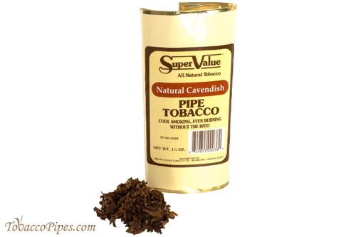 Super Value Natural Cavendish Pipe Tobacco