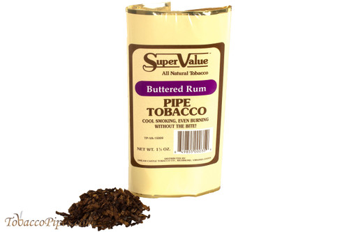 Super Value Buttered Rum Pipe Tobacco