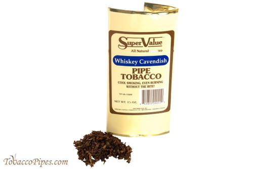 Super Value Whiskey Cavendish Pipe Tobacco