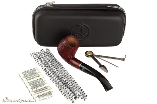 Rattray's Joy 8 Tobacco Pipe - Sandblast