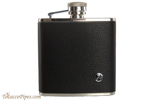 Rattray's Black Leather Flask - 5 oz