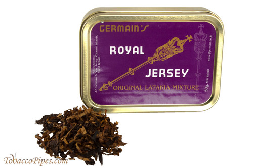 Germain Royal Jersey Latakia Mixture Pipe Tobacco - 1.75 oz