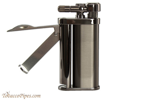 Pearl Eddie Gun Satin Pipe Lighter with Tools