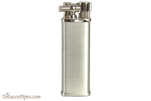 Pearl Bolbo Chrome Satin Pipe Lighter