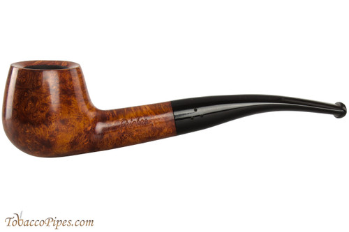 Brigham Mountaineer 336 Tobacco Pipe - Bent Brandy Smooth