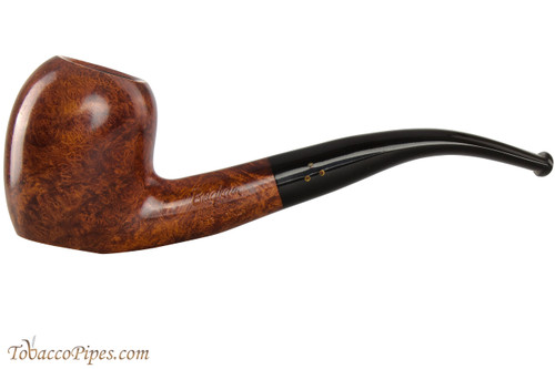 Brigham Mountaineer 363 Tobacco Pipe - Bent Acorn Smooth