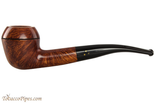 Brigham Mountaineer 326 Tobacco Pipe - Bent Rhodesian Smooth