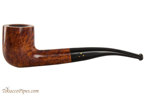 Brigham Mountaineer 354 Tobacco Pipe - Bent Billiard Smooth
