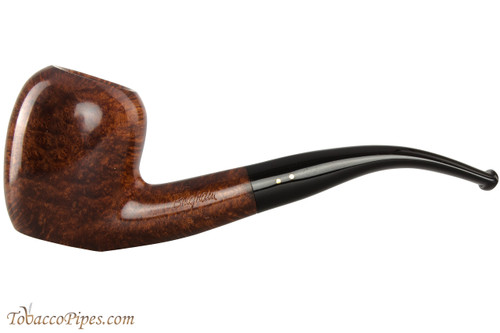 Brigham Algonquin 263 Tobacco Pipe - Bent Acorn Smooth
