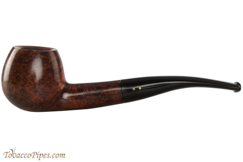 Brigham Algonquin 229 Tobacco Pipe - Bent Apple Smooth