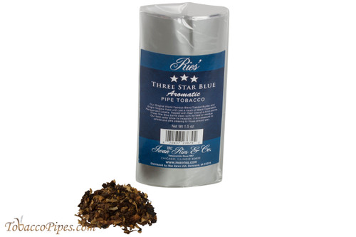 Ries' Three Star Blue Aromatic Pipe Tobacco