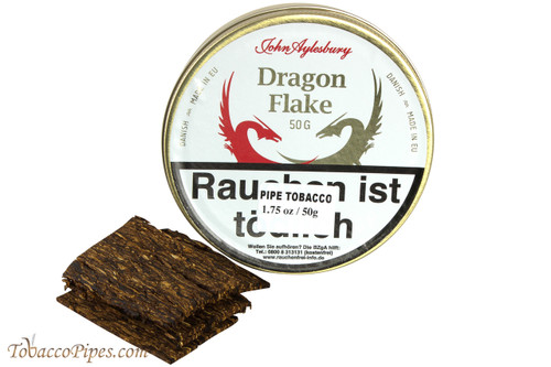 John Aylesbury Dragon Flake Pipe Tobacco - 50 g.