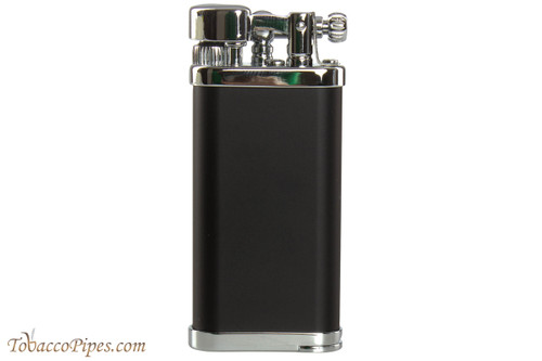 IM Corona Old Boy Black and Chrome Pipe Lighter
