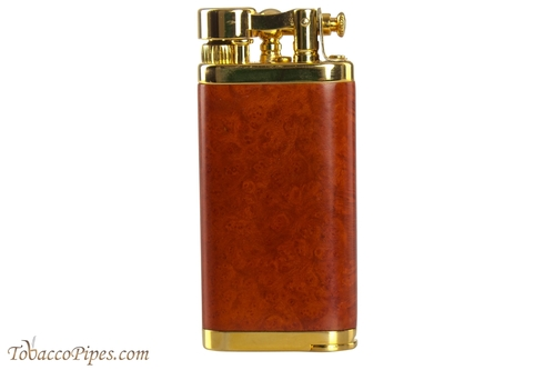 IM Corona Old Boy Gold and Natural Smooth Briar Pipe Lighter
