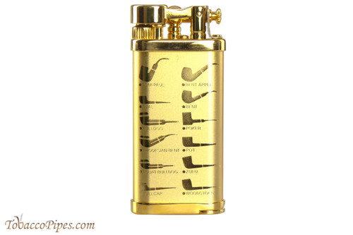 IM Corona Old Boy Gold Pipe Design Pipe Lighter