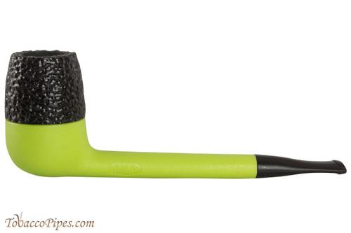 Nording Eriksen Keystone Green Stem Rustic Bowl Tobacco Pipe