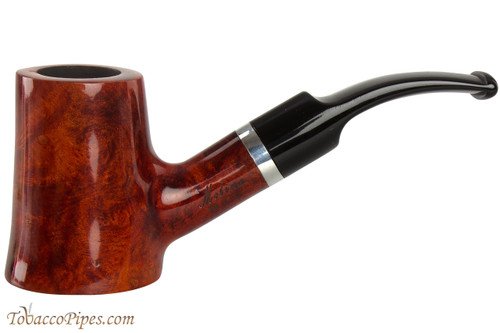 Molina Barasso Brilliant 100 Tobacco Pipe - Bent Sitter