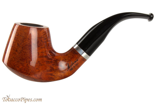 Molina Barasso Brilliant 101 Tobacco Pipe - Bent Pot