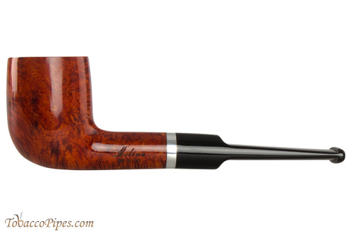 Molina Barasso Brilliant 104 Tobacco Pipe - Billiard