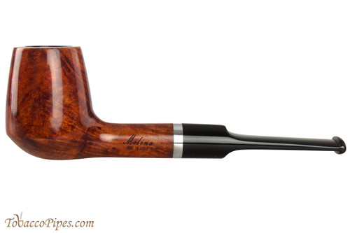 Molina Barasso Brilliant 108 Tobacco Pipe - Billiard