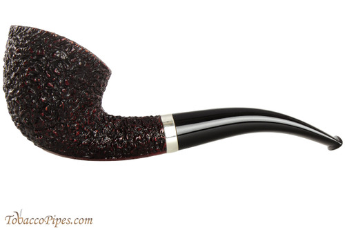 Rinaldo Lithos Y Black Tobacco Pipe - RLY39