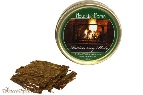 Hearth & Home Signature Series Anniversary Flake Pipe Tobacco