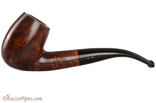 Brigham Algonquin 265 Tobacco Pipe - Bent Egg Smooth