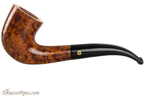 Brigham Klondike 47 Tobacco Pipe - Bent Dublin Smooth