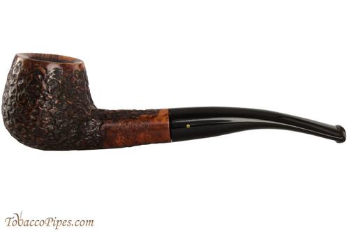Brigham Voyageur 136 Tobacco Pipe - Bent Brandy Rustic