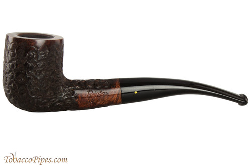 Brigham Voyageur 154 Tobacco Pipe - Bent Billiard Rustic