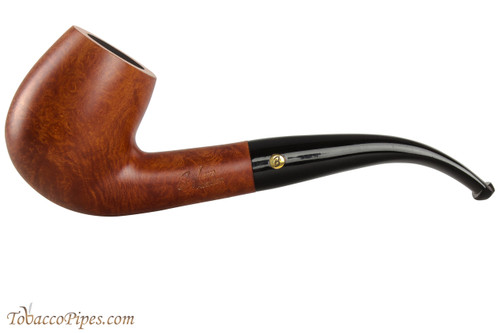 Brigham Acadian 24 Tobacco Pipe - Bent Billiard Smooth