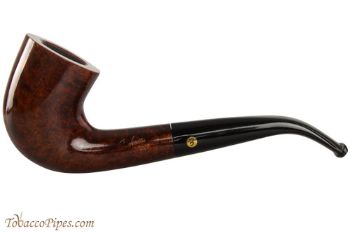 Brigham Heritage 47 Tobacco Pipe - Bent Dublin Smooth