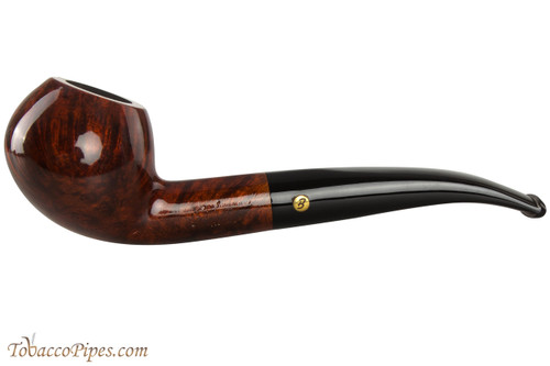 Brigham Heritage 29 Tobacco Pipe - Bent Apple Smooth