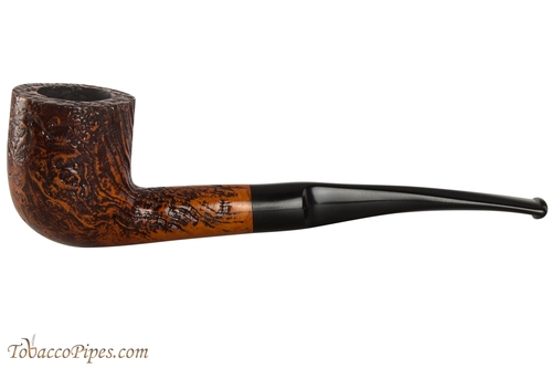 Capri Gozzo 54 Tobacco Pipe - Bent Pot Rustic