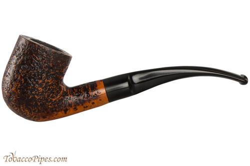 Capri Gozzo 23 Tobacco Pipe - Bent Billiard Rustic