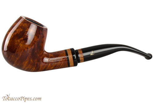 Lorenzetti Constantine 24 Tobacco Pipe - Bent Billiard Smooth
