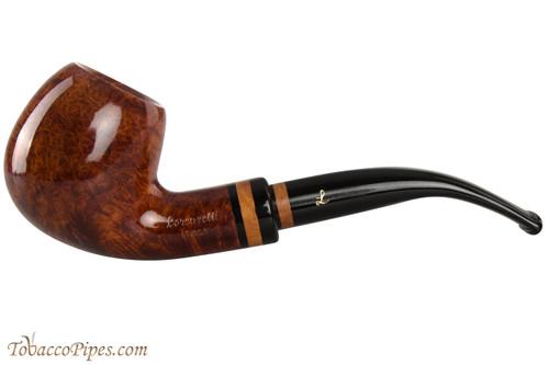 Lorenzetti Constantine 23 Tobacco Pipe - Bent Apple Smooth