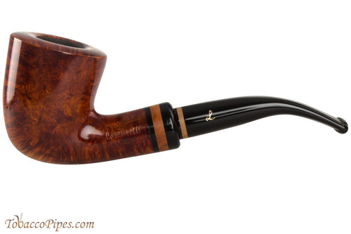 Lorenzetti Constantine 47 Tobacco Pipe - Bent Dublin Smooth