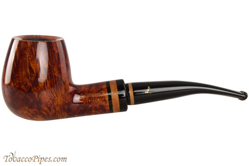 Lorenzetti Constantine 49 Tobacco Pipe - Bent Billiard Smooth