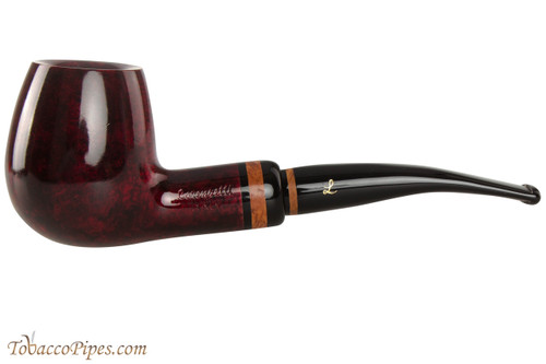 Lorenzetti Julius Caesar 49 Tobacco Pipe - Bent Billiard Smooth