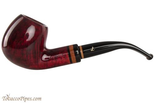 Lorenzetti Julius Caesar 23 Tobacco Pipe - Bent Apple Smooth