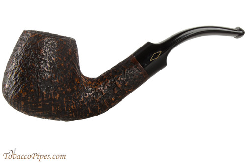 Brebbia Junior Noce 2735 Tobacco Pipe - Bent Brandy Sandblast