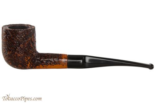 Capri Gozzo 04 Tobacco Pipe - Billiard Rustic